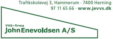 VVS Firma John Enevoldsen Logo